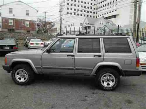 suv jeep 2000 sell used no reserve 2000 jeep cherokee 4x4 good miles
