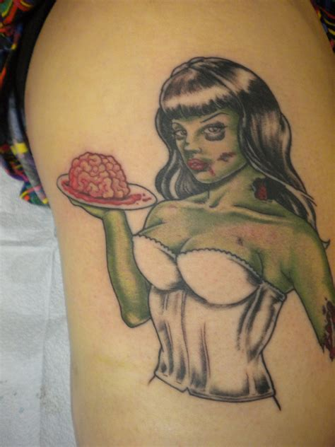 pin up name tattoo ideas zombie tattoos designs ideas and meaning tattoos for you