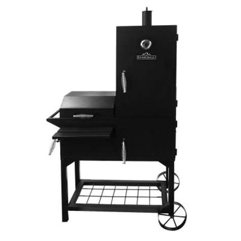 rivergrille rustler 40 in vertical smoker and grill