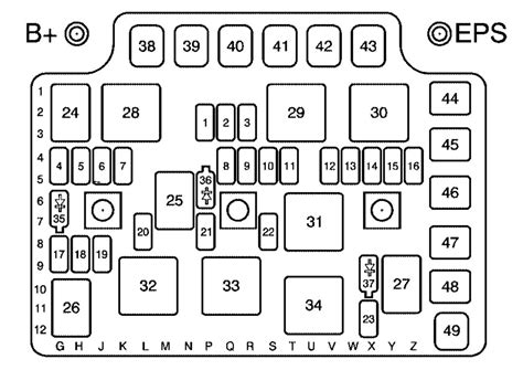 2005 saturn ion fuse box location trusted wiring diagrams saturn ion 2006 2007 fuse box diagram auto genius