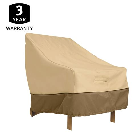 High Back Patio Chair Covers Classic Accessories Veranda Patio Chair Cover 78932 Size High Back Pebble Patio