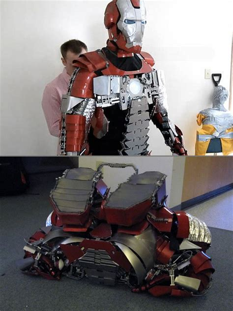 worlds greatest real life iron man briefcase suit techeblog