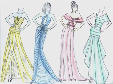 fashion design dress sketches fashion design sketches of dresses best hd wallpapers