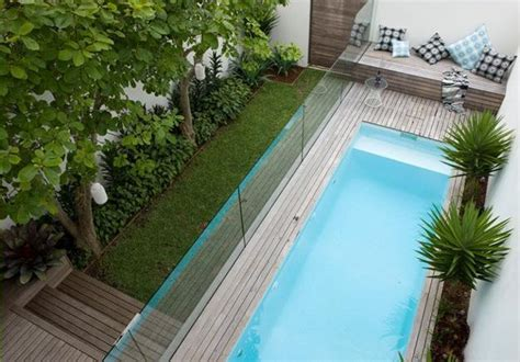 2 Small Backyard Ideas Designing Chic Outdoor Spaces With Small Backyard Swimming Pools