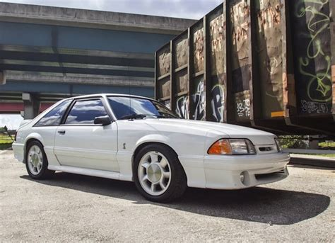 mustang cobra 93 for sale 93 cobra style 1990 ford mustang gt bring a trailer