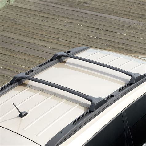 2009 traverse roof rack side and cross rail package 19244268