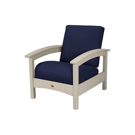 Patio Lounge Chairs With Cushions Home Decorators Collection Naples Light Grey Patio Lounge