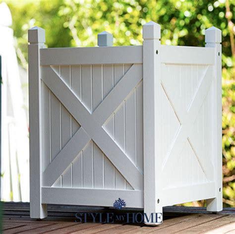 htons white planter boxes style my home australia