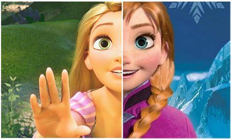 film elsa vs rapunzel animagix101 disney low on artistic variety