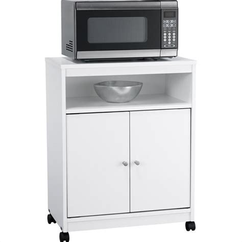 Cheap Kitchen Islands And Carts by Ameriwood Mobile White Microwave Cart Ebay