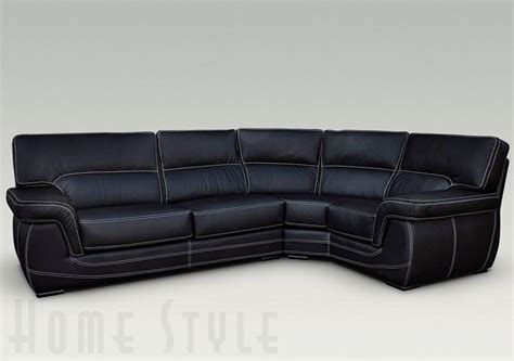leather corner sectional babylon leather corner sofa