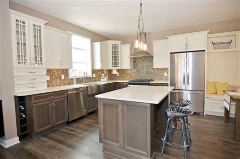 Banquette For Sale Showcase Home Features Modern Farmhouse Kitchen