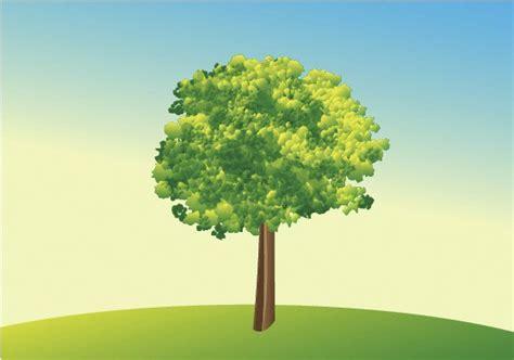 vector tree tutorial illustrator tutorial how to create a vector tree