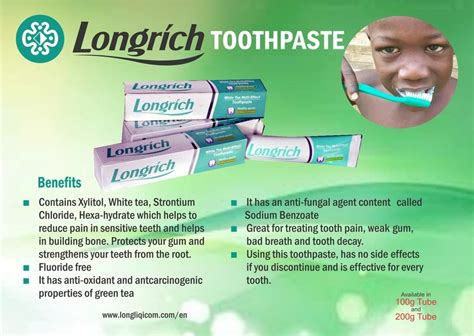 Longrich 290090 Toothpaste 100 G by Longrich Toothpaste 1 5 Pv With Longrich You Will