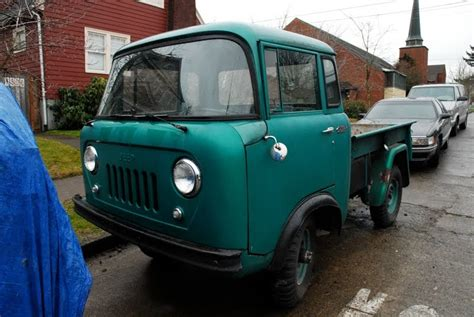 Jeep Truck 1960 Parked Cars 1960 Jeep Fc 150 Truck