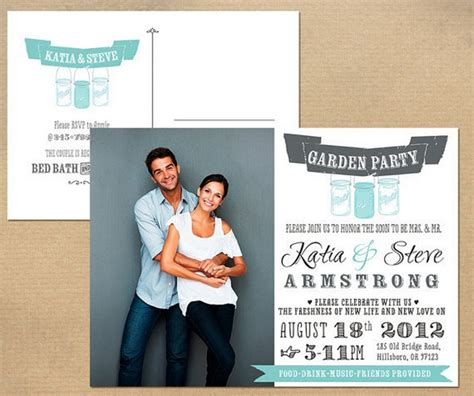 bridal shower tv couples 13 bridal shower invite ideas