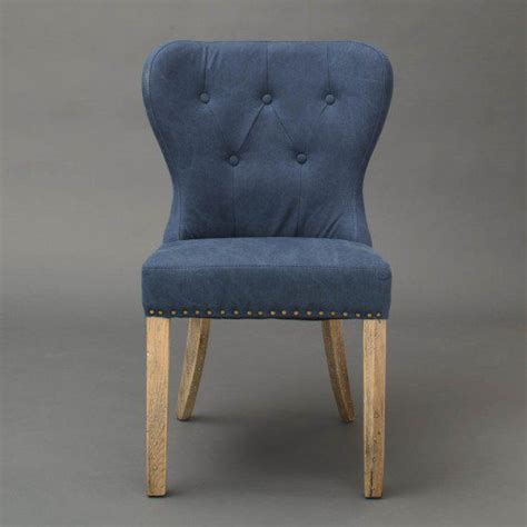 blue paulie upholstered dining chair horizon home furniture