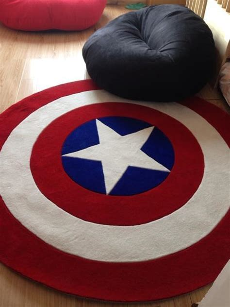 2017 high quality acrylic captain round rugs living room acrylic captain america round rugs five star living room