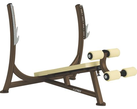 cybex bench press olympic decline press cybex