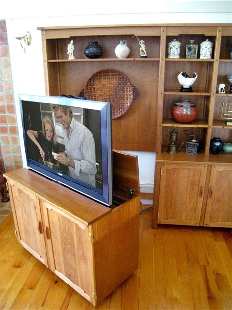 pop up tv cabinet pull out tv stand custom made pull out tv cabinet nexus 21