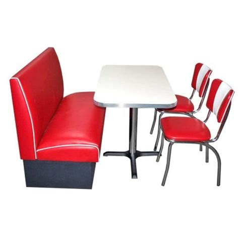 table blanche banquette et chaises us way of