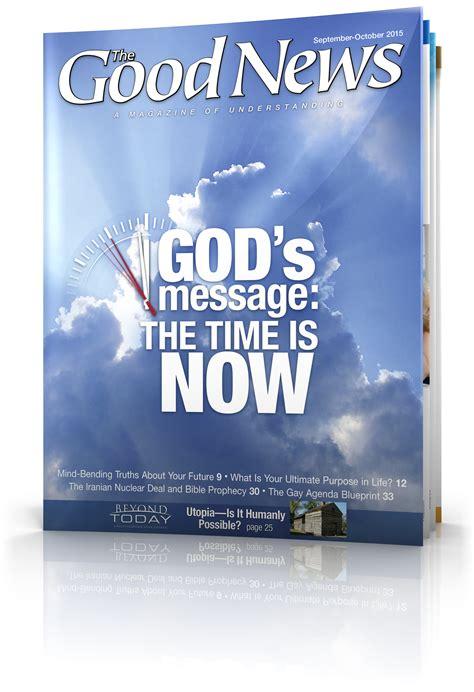 good news magazine september october  united