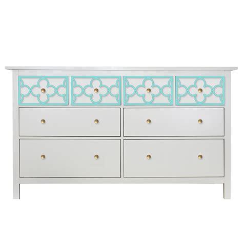 Dresser Top Only by O Verlays Quatrefoil Single Hemnes 8 Drawer Dresser