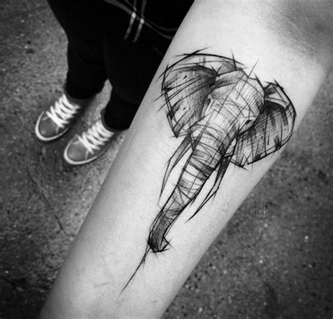 40 fascinating sketch style tattoo designs tattooblend