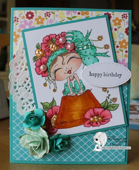 Digi Images For Card Making - 3830 best images about girls cards on pinterest tiddly inks whimsy stamps and handmade cards