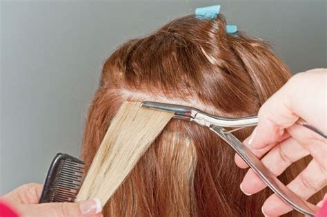 hair extension application how to apply simplicity hair extensions