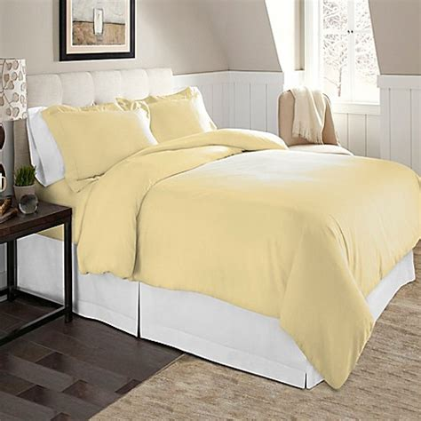 queen flannel duvet cover buy pointehaven solid flannel duvet cover set in white from bed bath beyond
