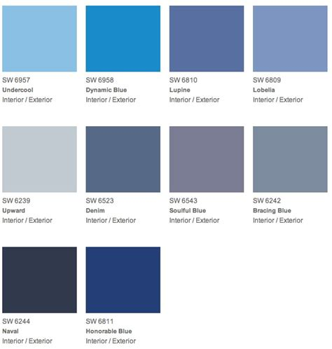 popular blue paint colors best blue paint color home design