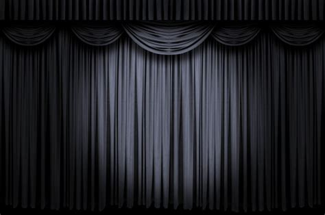 Banner Light Curtain Black Curtain Wallpaper Wallpapersafari