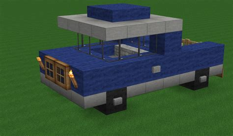 minecraft pickup truck breakc0re s transportation pack schematics included