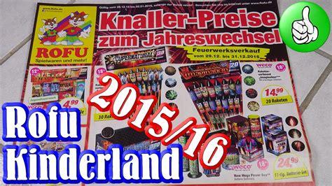 kinderlen online shop rofu kinderland feuerwerk prospekt 2015 2016 full hd