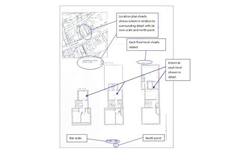 What Is Used To Map The Floor by Guidance For Preparing Plans For Land Registry