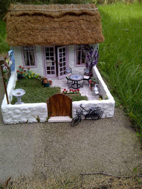 garden cottage furniture thatch cottage miniature house garden miniature
