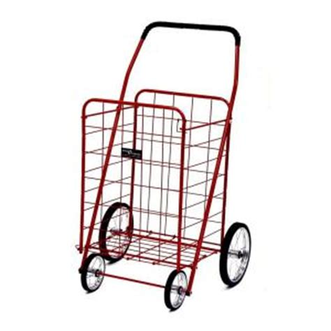 easy wheels jumbo shopping cart in 001rd the home depot
