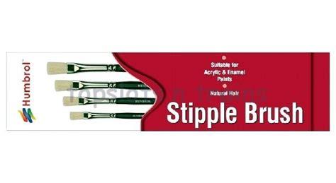 Humbrol Ag4303 Brush Pack humbrol stipple brush pack ag4303 stippling at topslots n
