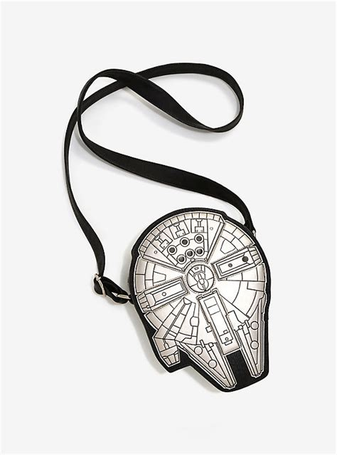 7 Accessories By Loungefly by Loungefly Wars Millennium Falcon Crossbody Bag