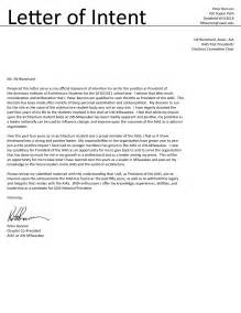 best photos of letter of intent for job sample letter of
