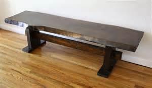 slab bench antique rustic wood slab bench picked vintage