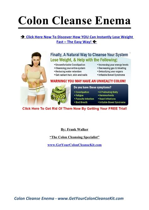 Colon Cleanse Vs Detox by Connectionsposts
