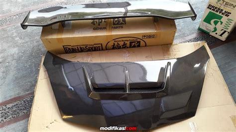 Kap Mesin Honda Jazz Ge8 Oem 1 bekas wts 2nd kap mesin spoiler js racing carbon ex jazz ge8