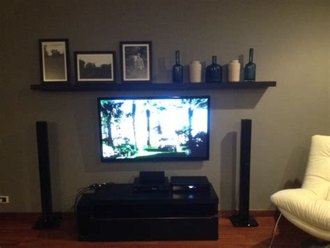 Wall Colors And Mood need help with shelf above television