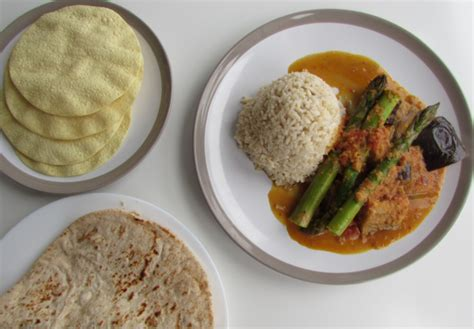 River Cottage Veg Curry by Aubergine And Asparagus Curry Louise Skinner