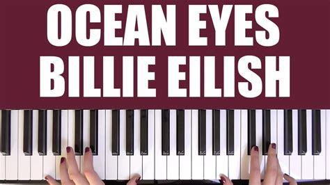 billie eilish watch chords how to play ocean eyes billie eilish youtube