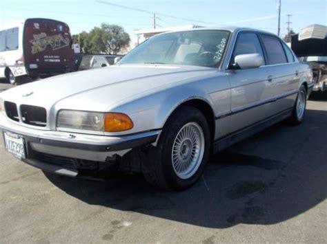sell used 1996 bmw 750il no reserve in orange california united states
