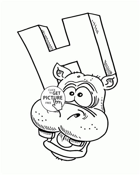 letter h coloring pages for toddlers letter h alphabet coloring pages for abc
