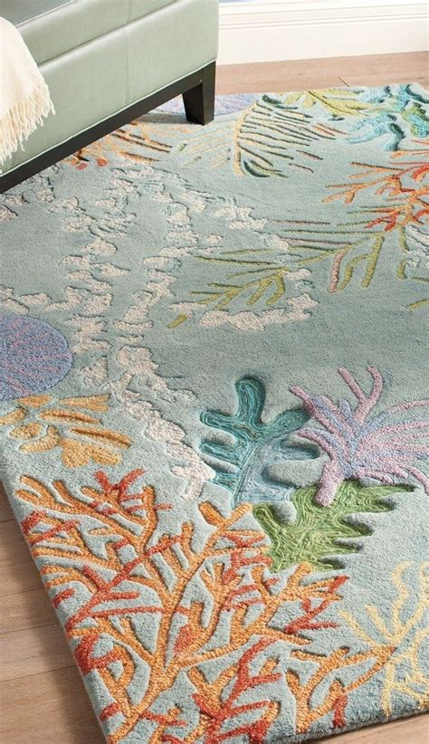 coral reef area rug 17 best ideas about nursery on